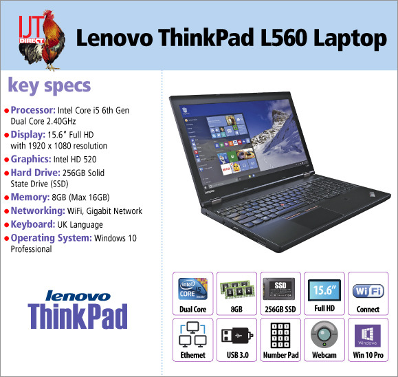 Lenovo ThinkPad L560 15.6\