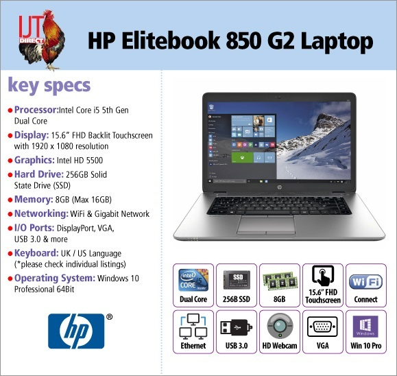 HP EliteBook 850 G2 15.6\
